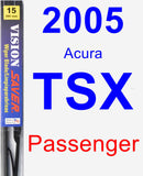 Passenger Wiper Blade for 2005 Acura TSX - Vision Saver