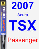 Passenger Wiper Blade for 2007 Acura TSX - Vision Saver