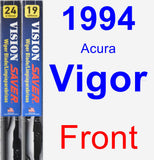 Front Wiper Blade Pack for 1994 Acura Vigor - Vision Saver