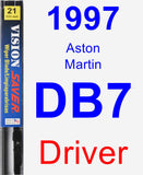 Driver Wiper Blade for 1997 Aston Martin DB7 - Vision Saver