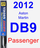 Passenger Wiper Blade for 2012 Aston Martin DB9 - Vision Saver