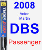 Passenger Wiper Blade for 2008 Aston Martin DBS - Vision Saver