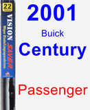 Passenger Wiper Blade for 2001 Buick Century - Vision Saver