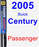 Passenger Wiper Blade for 2005 Buick Century - Vision Saver