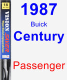 Passenger Wiper Blade for 1987 Buick Century - Vision Saver