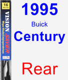 Rear Wiper Blade for 1995 Buick Century - Vision Saver