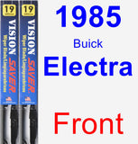 Front Wiper Blade Pack for 1985 Buick Electra - Vision Saver