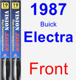Front Wiper Blade Pack for 1987 Buick Electra - Vision Saver