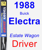 Driver Wiper Blade for 1988 Buick Electra - Vision Saver