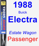 Passenger Wiper Blade for 1988 Buick Electra - Vision Saver