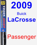 Passenger Wiper Blade for 2009 Buick LaCrosse - Vision Saver