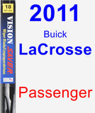 Passenger Wiper Blade for 2011 Buick LaCrosse - Vision Saver