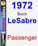 Passenger Wiper Blade for 1972 Buick LeSabre - Vision Saver