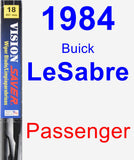 Passenger Wiper Blade for 1984 Buick LeSabre - Vision Saver