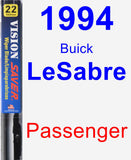 Passenger Wiper Blade for 1994 Buick LeSabre - Vision Saver