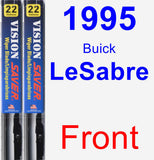 Front Wiper Blade Pack for 1995 Buick LeSabre - Vision Saver