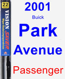 Passenger Wiper Blade for 2001 Buick Park Avenue - Vision Saver