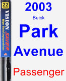 Passenger Wiper Blade for 2003 Buick Park Avenue - Vision Saver