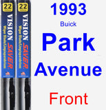 Front Wiper Blade Pack for 1993 Buick Park Avenue - Vision Saver