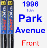 Front Wiper Blade Pack for 1996 Buick Park Avenue - Vision Saver
