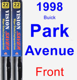 Front Wiper Blade Pack for 1998 Buick Park Avenue - Vision Saver