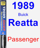 Passenger Wiper Blade for 1989 Buick Reatta - Vision Saver