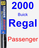 Passenger Wiper Blade for 2000 Buick Regal - Vision Saver