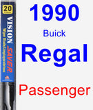 Passenger Wiper Blade for 1990 Buick Regal - Vision Saver