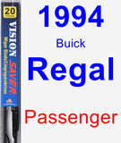 Passenger Wiper Blade for 1994 Buick Regal - Vision Saver