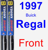 Front Wiper Blade Pack for 1997 Buick Regal - Vision Saver