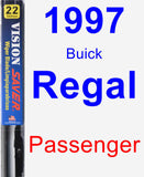 Passenger Wiper Blade for 1997 Buick Regal - Vision Saver