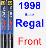 Front Wiper Blade Pack for 1998 Buick Regal - Vision Saver