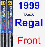 Front Wiper Blade Pack for 1999 Buick Regal - Vision Saver