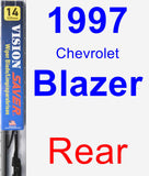 Rear Wiper Blade for 1997 Chevrolet Blazer - Vision Saver