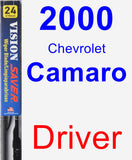 Driver Wiper Blade for 2000 Chevrolet Camaro - Vision Saver