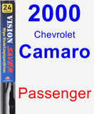 Passenger Wiper Blade for 2000 Chevrolet Camaro - Vision Saver