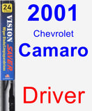 Driver Wiper Blade for 2001 Chevrolet Camaro - Vision Saver