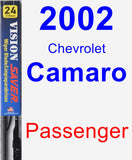 Passenger Wiper Blade for 2002 Chevrolet Camaro - Vision Saver