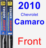 Front Wiper Blade Pack for 2010 Chevrolet Camaro - Vision Saver