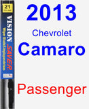 Passenger Wiper Blade for 2013 Chevrolet Camaro - Vision Saver