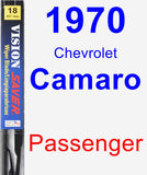 Passenger Wiper Blade for 1970 Chevrolet Camaro - Vision Saver
