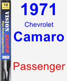 Passenger Wiper Blade for 1971 Chevrolet Camaro - Vision Saver