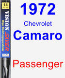 Passenger Wiper Blade for 1972 Chevrolet Camaro - Vision Saver