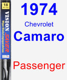 Passenger Wiper Blade for 1974 Chevrolet Camaro - Vision Saver