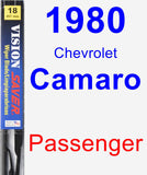Passenger Wiper Blade for 1980 Chevrolet Camaro - Vision Saver