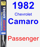 Passenger Wiper Blade for 1982 Chevrolet Camaro - Vision Saver