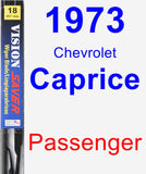Passenger Wiper Blade for 1973 Chevrolet Caprice - Vision Saver