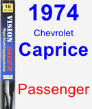 Passenger Wiper Blade for 1974 Chevrolet Caprice - Vision Saver