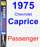 Passenger Wiper Blade for 1975 Chevrolet Caprice - Vision Saver