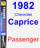 Passenger Wiper Blade for 1982 Chevrolet Caprice - Vision Saver